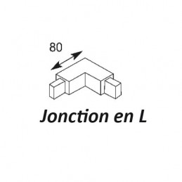 JONCTION EN L POUR RAIL SAM...