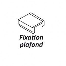 FIXATION PLAFOND POUR RAIL...