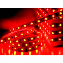 RUBAN LED FLEXIBLE ROUGE IP65