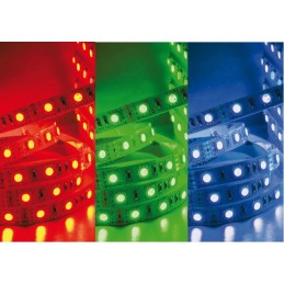 RUBAN LED FLEXIBLE RGB...